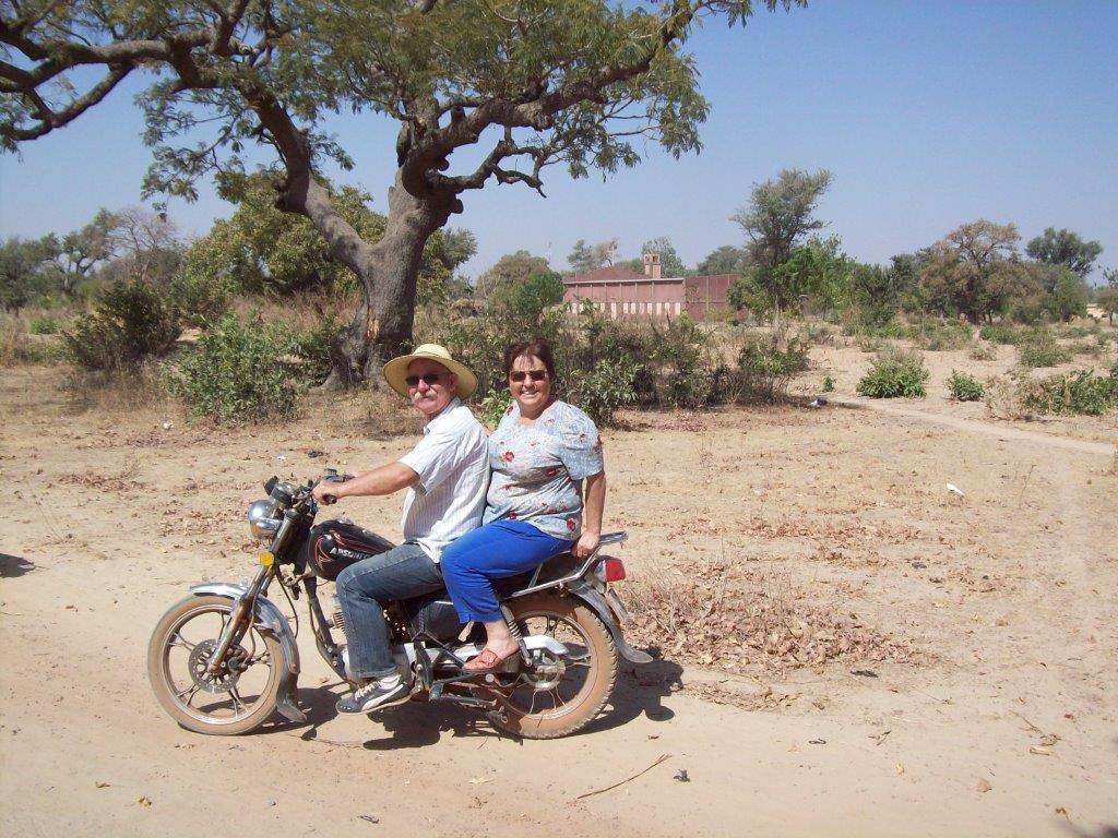 Nos 2 motards!