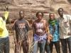 Narcisse,Mme la guide, Ibrahim et Ismaël