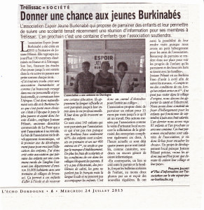 EJB article echo dordogne